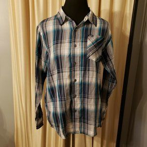 Hurley Button Up  Shirt Size XL